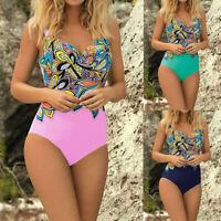 Women One-piece Swimsuit Swimwear Push Up Siamese Bathing Suit Bikini Beachwear