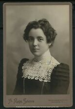 Vintage Stage Actress: Blanche Kelleher Cabinet Card Photograph c. 1900