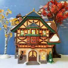 Dept 56 Alpine Village Burgermeister Haus(Mayor's House)Octoberfest,Perfect ,Rare