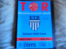 Germany 1993/4 ETB Scwarz Weiss Essen v Spvg Marl