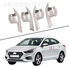 2018-2019 2020 Fits Hyundai Accent ASB outer door cup bowl cover cover trim 4PCS