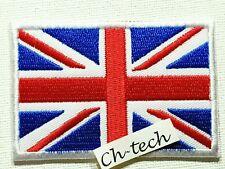 Embroidered Union Jack Patch Red Blue UK Flag Iron /Sew On  United Kingdom Badge