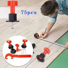 75Pcs Tile Leveler Reusable Anti-Lippage Leveling System Floor Wall Locator Tool