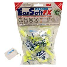 Oxford Earsoft FX tapones para los oídos SNR39 Motocicleta/Bicicleta/tapones para los oídos de MX - 50 pares OF537