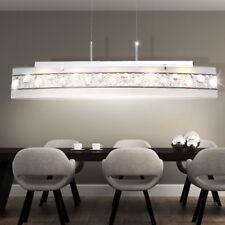 Hochwertige Pendel Lampe LED Küchen Hänge Leuchte Kristall Balken Big Light