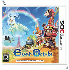 3DS Ever Oasis Nintendo RPG Games
