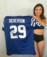 Eric Dickerson signed autographed Colts authentic Reebok stitched blue 29 jersey