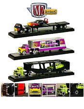 "AUTO HAULERS RELEASE 17 ""A"" 3 TRUCKS SET 1/64 M2 MACHINES 36000-17A"