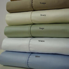 1200 Thread Count Luxury Sheet Set 100% Combed Cotton Thick, Yet Soft Sheets