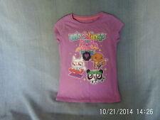 Girls 5 Years - Purple T-Shirt - Moshi Monsters Motif - Next