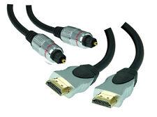 20m Premium High Speed HDMI Cable +20m Premium Optical Digital Cable