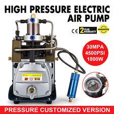 Pompe à compresseur électrique à haute pression de 220V 30Mpal'écoulement d'air
