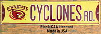 Street Sign Cyclones Rd NCAA Lic.colorful picture Iowa State University
