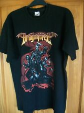 DRAGONFORCE  *  2007 Tour  T- SHIRT * Dates on back *  M  MEDIUM