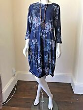 LAGENLOOK LMT Gorgeous Cotton Quirky Floral Dress UK 10 12 14 16 18 20 NEW