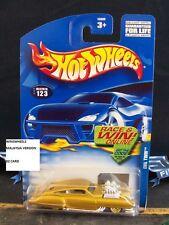 2002 Hot Wheels Evil Twin #123-Metallic Gold Paint
