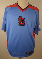 Majestic St. Louis Cardinals MLB Short sleeve Baseball Jersey Shirt Medium