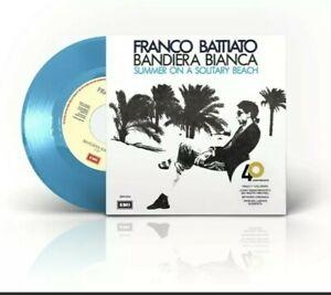 Franco Battiato BANDIERA BIANCA/SUMMER 45giri COLORATO SOLD OUT NUMER 300 COPIE