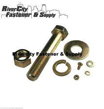 Grade 8 Hex Nuts, Bolts / Screws, &  Flat & Lock Washers Kit 668 Pieces
