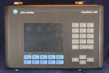 Allen Bradley 2711-B6C9 /B 2711B6C9 PanelView 600 Color, Rs-232 (Dh-485) Commu