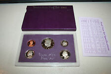 1987 US Coin Proof Set Kennedy Half Dollar Nice Birth Year Free Shipping 9988001