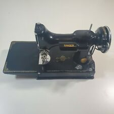 Vintage Singer Featherweight 221 Sewing Machine 1936 Early Antique Art Deco Mini
