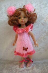 Sundress, Shoes for doll Paola Reina Little Darling 32 cm handmade