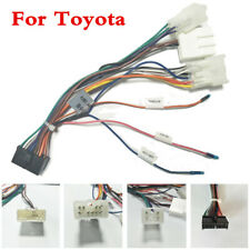ISO Wiring Harness Cable Lead Loom Plug Adaptor For Car 2Din Car Radio Stereo