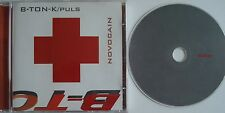B-TON-K/PULS   ___   NOVOCAIN   ___   15 Track CD  ALBUM   ___ LIMITED EDITION