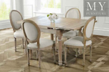 Esteban Extending Dining Table - Solid Oak French Style