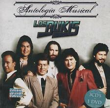 CD/DVD - Los Bukis NEW Antologia Musical 3 CD's / 1 DVD FAST SHIPPING !