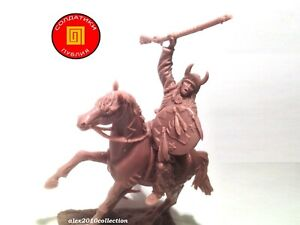 NEW! PUBLIUS - Mounted Indian,Battle of the Little Bighorn, rubber soldier 1:32