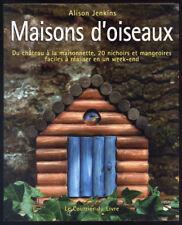 ALISON GENKINS, MAISONS D'OISEAUX