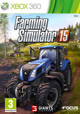 Farming Simulator 15 (Microsoft Xbox 360, 2015) Brand New and Sealed