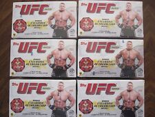 Factory Sealed 6 Box Lot - 2010 Topps UFC Series 4 Mixed Martial Arts MMA Cards