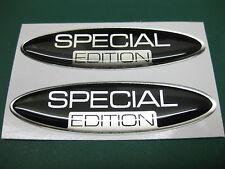 2 Oval Edición Especial semicirculares pegatinas V001
