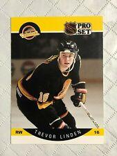 1990 ~ PRO SET HOCKEY ~ VANCOUVER CANUCKS ~ #299-544 ~ EF Condition