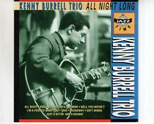 CD KENNY BURRELL TRIOall night longPORTUGAL EX+ (R1786)