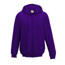 Mens Full Zip Hooded Top Hoodie Hooded Sweatshirt Jumper Zipped Hoody S – 5XL