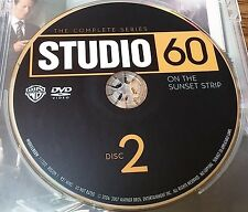 Studio 60 The Complete Series Disc 2 Replacement Disc DVD ONLY