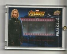 Avengers Infinity War Film Cels Trading Card Scarlett Johansson as Black Widow