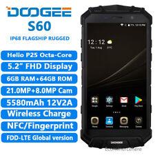 DOOGEE S60 Octa Core 4G Smartphone 6G+64G IP68 NFC Teléfono Móvil Quick Charge