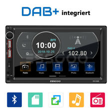 "7"" 2 DIN DAB+ RDS AM FM Autoradio Bluetooth Stereo 2 USB SD AUX IN MP5 Player DE"
