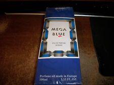 WAGNER MEGA BLUE EAU DE PARFUM WOMAN 3.33 OZ FACTORY SEALED