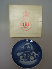 """Bing & Grondahl 2 Mothers Day Collector Plates 9"""" 1984 & 1979 hbg"""