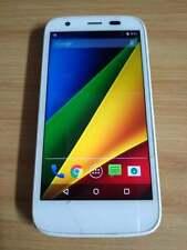 *READ*WHITE UNLOCKED MOTOROLA MOTO 4 4G XT1040 CELL PHONE ROGERS TELUS BELL AT&T