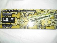 "ISO BEAUTY PROFESSIONAL TURBO SILK 1"" STRAIGHTENER  IRON GREEN SNICK MSRP $320"