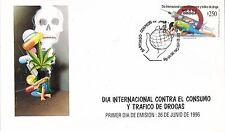 Chile 1996 FDC Dia Internacional Contra el Consumo de Drogas