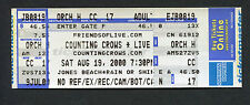 Original 2000 Counting Crows unused full concert ticket Wantaugh NY Mr. Jones