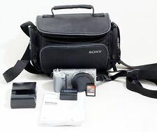Sony α (alpha) NEX-5N 16.1 MP Digital SILVER Camera Body ONLY 1k SHUTTER COUNT